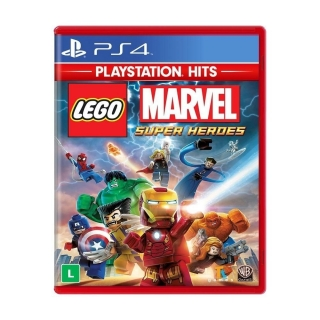 Lego Marvel Super Heroes PS4 - Legendas em Português