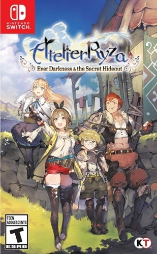 Atelier Ryza Ever Darkness And The Secret Hideout - Switch - Atacado dos Jogos