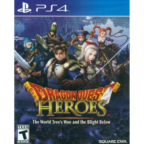 Dragon Quest Heroes: The World Tree's Woe And The Blight Bel - Atacado dos Jogos