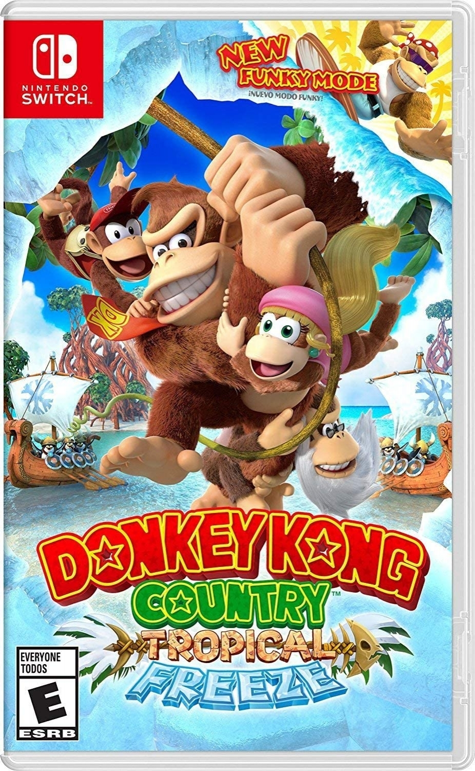 Donkey Kong Country Tropical Freeze - Switch - Atacado dos Jogos