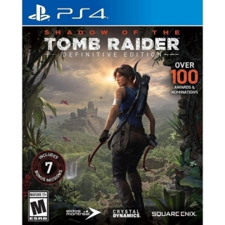 Shadow of The Tomb Raider Definitive Edition - PS4 (Dublado em Português)