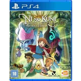 Ni No Kuni: Wrath Of The White Witch Remastered - Jogo