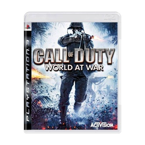 Call Of Duty World At War - Ps3 - Atacado dos Jogos
