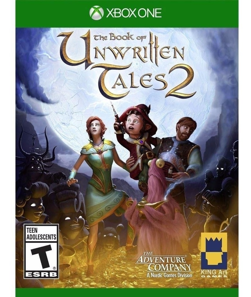 The Book Of Unwritten Tales 2 Xbox One - Atacado dos Jogos