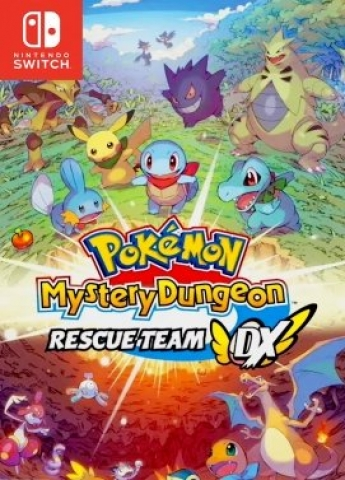 Pokémon Mystery Dungeon: Rescue Team DX - Nintendo Switch - Atacado dos Jogos