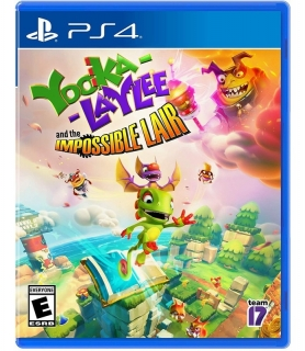 Yooka Laylee Impossible Lair - Jogo PS4