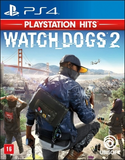 Watch Dogs 2 PS4 (Playstation 4) - Dublado em Português
