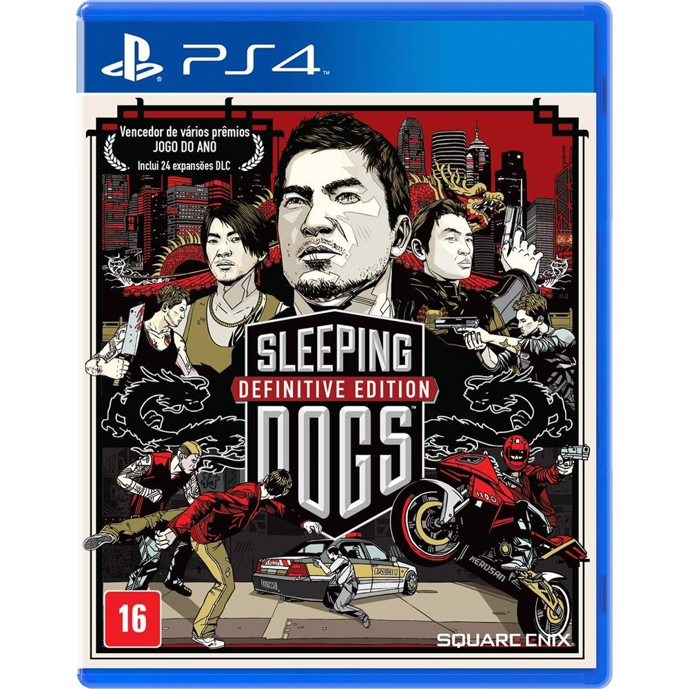 Sleeping Dogs: Definitive Edition - PS4 - Atacado dos Jogos