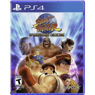 Pacote com 12 Jogos Street Fighter: 30th Anniversary Collection PS4