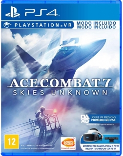 Ace Combat 7 Skies Unknown + Modo VR Incluído - PS4