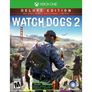 Watch Dogs 2: Deluxe Edition - Xbox One (Dublado em Português)