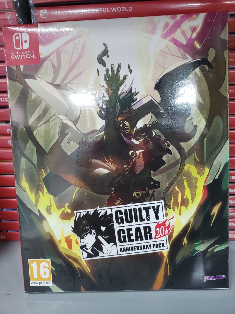 Guilty Gear 20th Anniversary Pack - Switch - Atacado dos Jogos