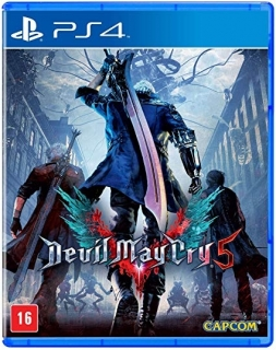 Devil May Cry 5 PS4 (Playstation 4) - Legendas em Português