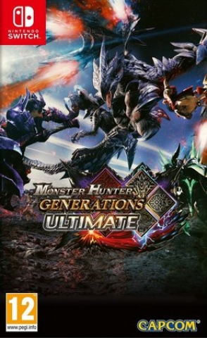Monster Hunter Generations Ultimate - Switch - Atacado dos Jogos