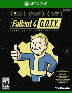 Jogo Fallout 4 GOTY Game Of The Year - Xbox One