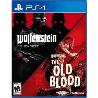 Wolfenstein Double Pack - PS4 (Pacote com 2 Jogos)