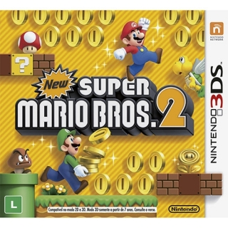 New Super Mario Bros 2 - Jogo 3DS 2DS New 3DS