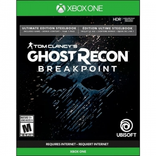 Jogo Ghost Recon Breakpoint Steelbook Ultimate Edition - Xbox One