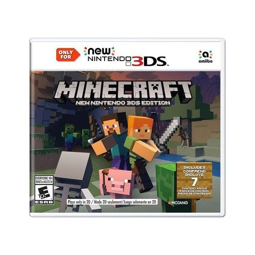 Minecraft: New Nintendo 3DS Edition - New 3DS - Atacado dos Jogos
