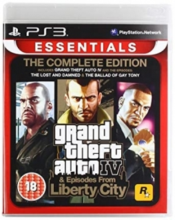 Grand Theft Auto IV Complete Edition - PS3