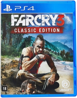 Far Cry 3 - Classic Edition PS4 - Dublado em Português