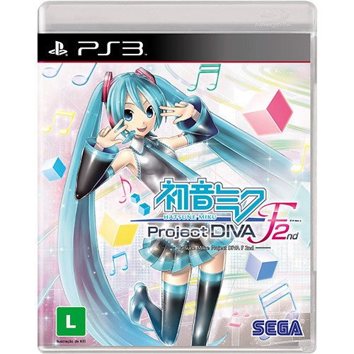 Hatsune Miku Project Diva F 2nd PS3 (Playstation 3) - Atacado dos Jogos