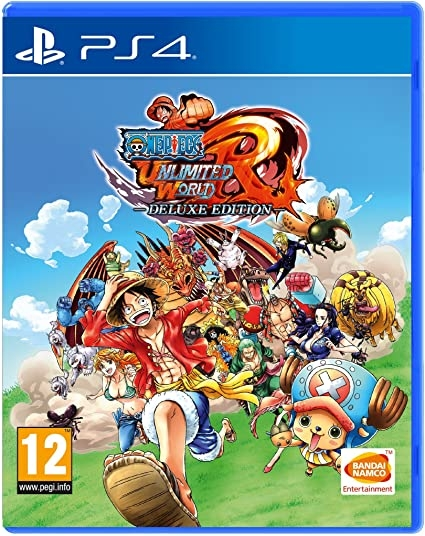 One Piece Unlimited World Red Deluxe Edition - Jogo PS4 - Atacado dos Jogos