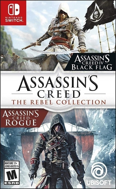 Assassins Creed The Rebel Collection - Jogo Switch (Pacote c - Atacado dos Jogos