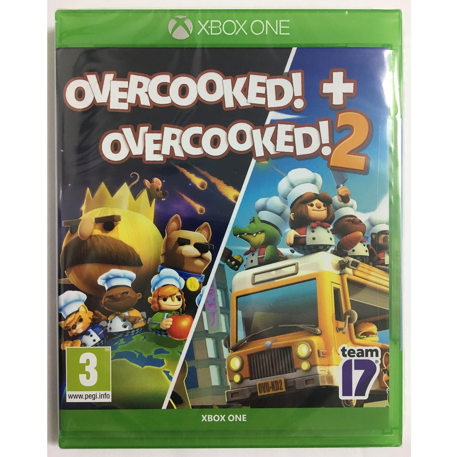 Overcooked 1 Special Edition + Overcooked 2 - Double Pack Xb - Atacado dos Jogos