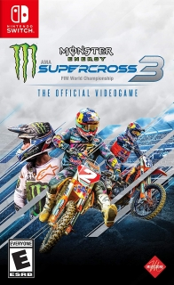 Monster Energy Supercross - The Official Videogame 3 - Jogo Switch