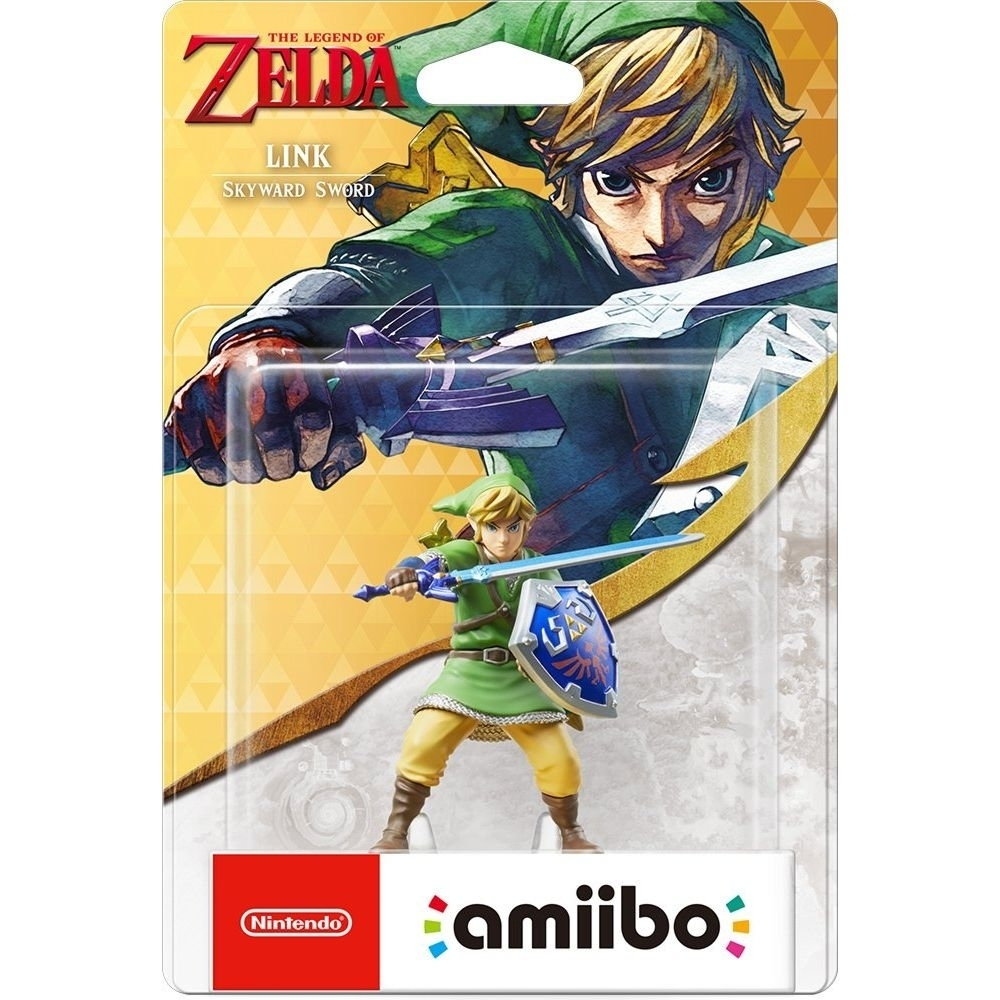 Amiibo Link Skyward Sword The Legend Of Zelda - Switch 3DS W - Atacado dos Jogos