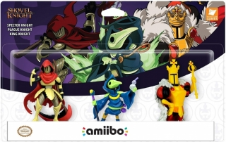 Amiibo Shovel Knight Treasure Trove 3-Pack - Nintendo Switch
