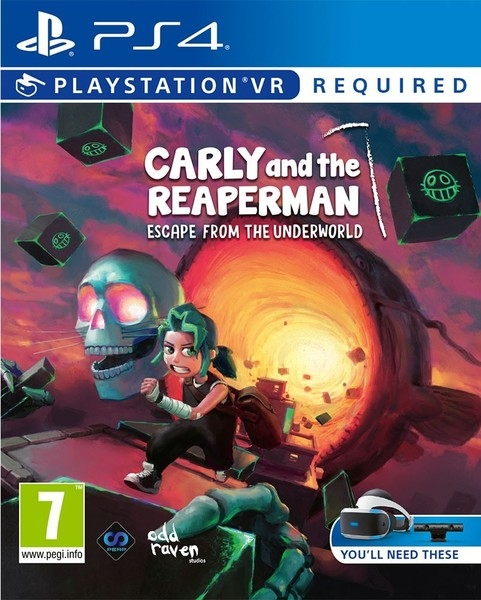 Carly and the Reaperman – Escape from the Underworld (VR) PS - Atacado dos Jogos