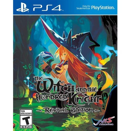 The Witch And The Hundred Knight Revival Edition - PS4 - Atacado dos Jogos