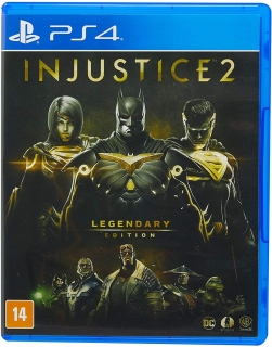 Injustice 2 Legendary Edition PS4 - Dublado em Português
