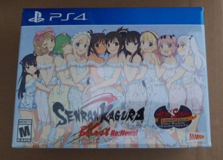 Senran Kagura Burst Re:Newal At the Seams Edition - Ps4