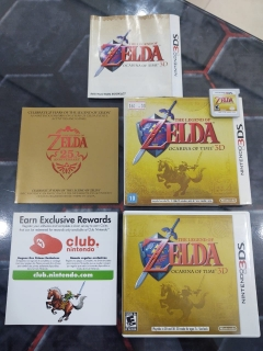 Zelda Ocarina Of Time 3d Nintendo 3ds Black Label (RARIDADE)