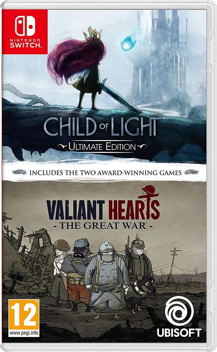 Child Of Light & Valiant Hearts - Switch - Atacado dos Jogos