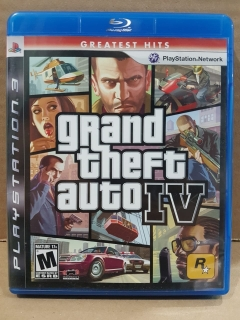 Jogo Usado - The Grand Theft Auto IV - PS3