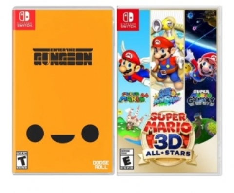 Kit ENTER THE GUNGEON - SWITCH / SUPER MARIO 3D ALL-STARS -  - Atacado dos Jogos