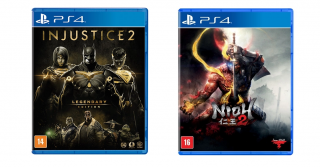 Kit 2 Jogos Nioh 2 + Injustice 2 Legendary Edition - PS4