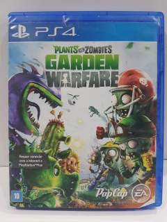 Jogo Usado - Plants Vs Zombies Garden Warfare - PS4
