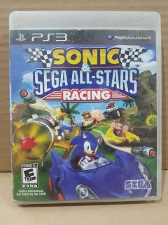 Jogo Usado - Sonic & Sega All Star Racing - PS3