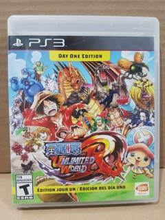 Jogo Usado - One Piece Unlimited World Red - PS3
