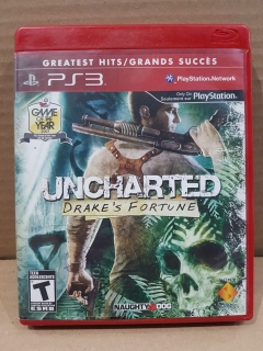 Jogo Usado - Uncharted Drake's Fortune - PS3