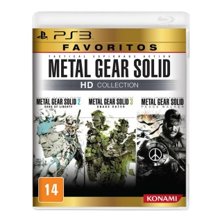 Metal Gear Solid HD Collection - PS3 ( Pacote com 3 Jogos)