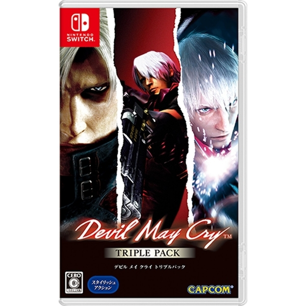 Devil May Cry Triple Pack - Nintendo Switch - Atacado dos Jogos