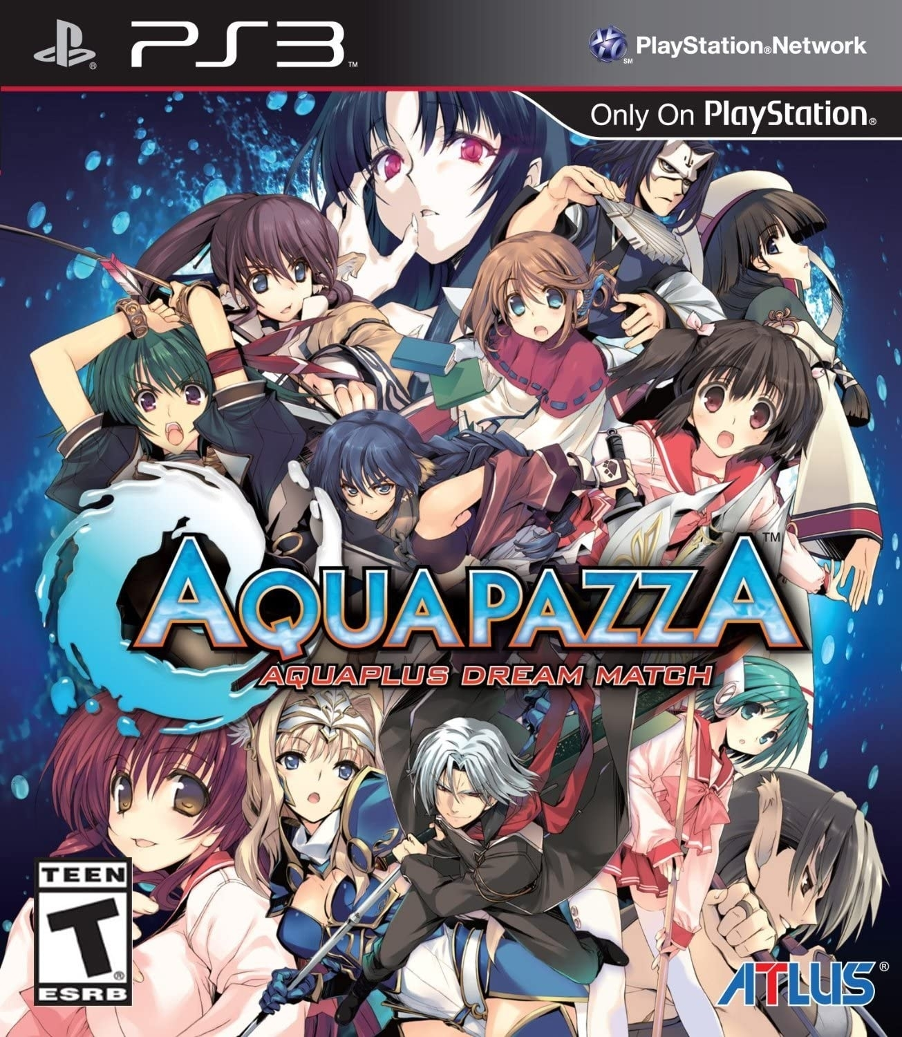 Aquapazza: Aquaplus Dream Match - PS3 (Playstation 3) - Atacado dos Jogos