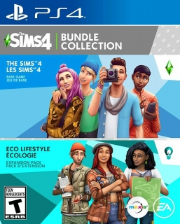 The Sims 4 Plus Eco Lifestyle Bundle - PS4
