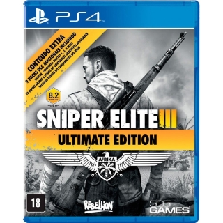 Sniper Elite 3 Ultimate Edition PS4 - Legendas Português